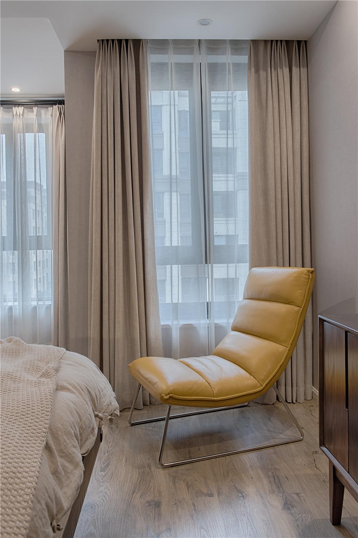 95㎡现代北欧装修躺椅设计