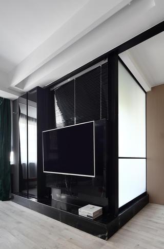 66平米小户型电视墙装修效果图
