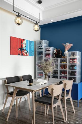现代简约两居餐厅装修效果图