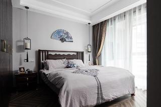 142㎡新中式卧室装修效果图