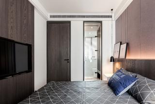 145㎡現代簡約臥室裝修效果圖