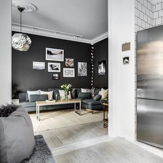 北欧两居室公寓装修效果图