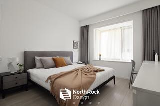 135㎡现代风卧室装修效果图
