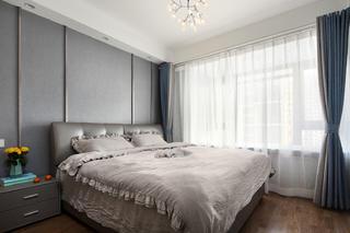 89㎡三居卧室装修效果图
