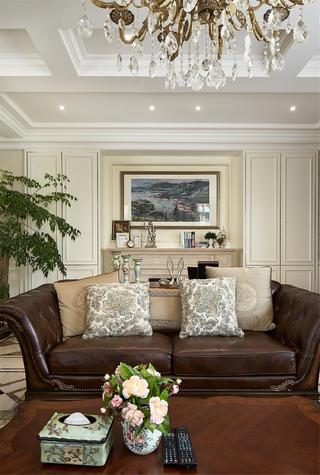 美式别墅装修客厅沙发设计