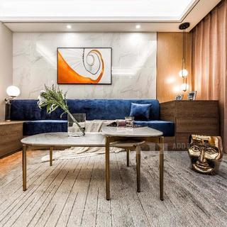 现代轻奢三居装修效果图