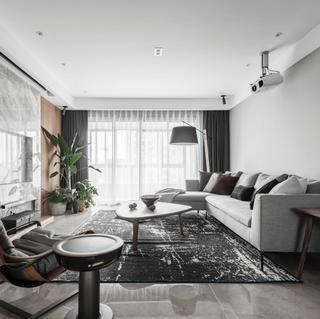 现代简约三居室每日首存送20