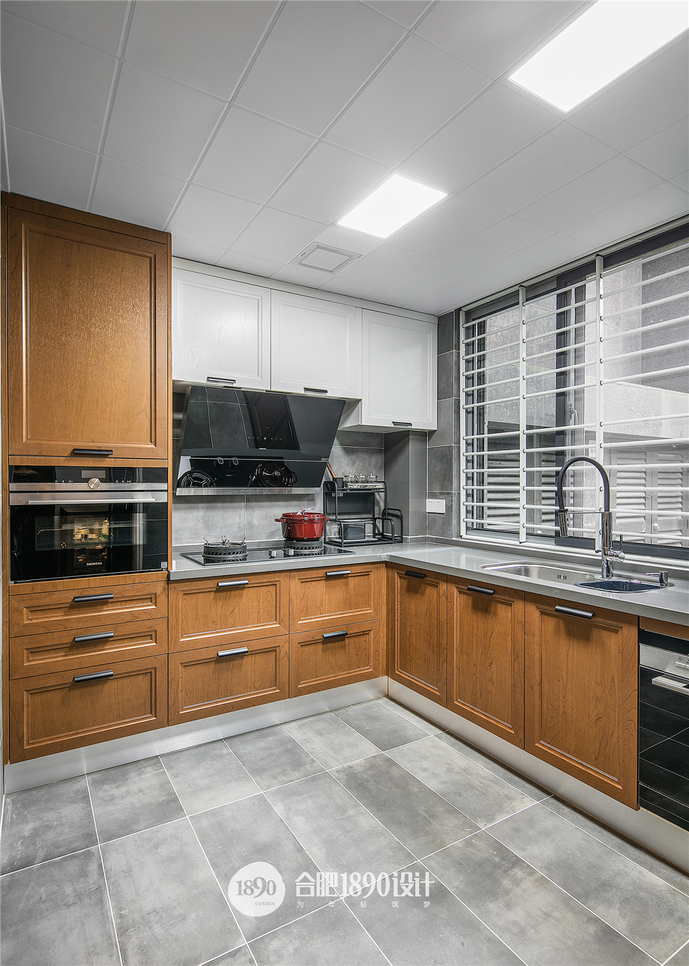 150㎡混搭风格厨房装修效果图