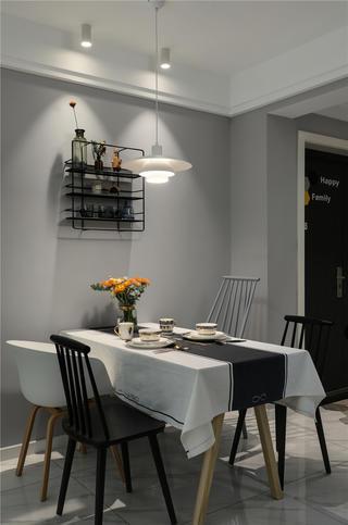 北欧风三居餐厅每日首存送20