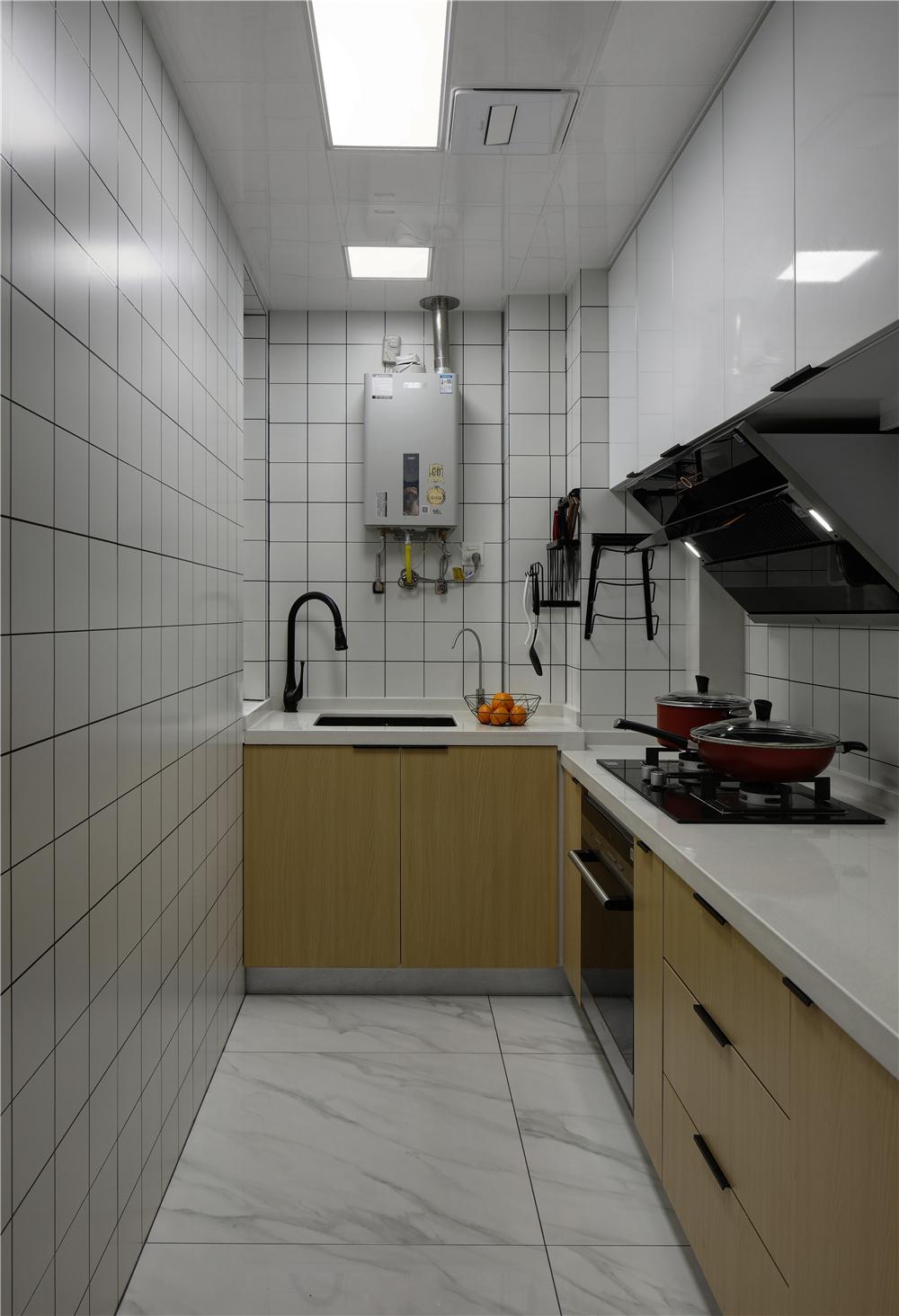 北欧风三居厨房装修效果图