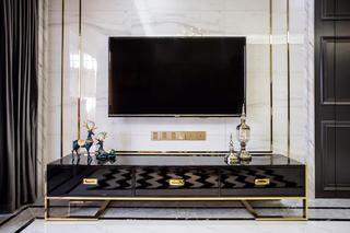 102㎡二居室装修电视柜设计