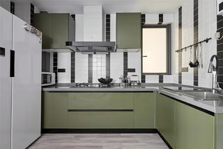 89㎡二居室厨房装修效果图