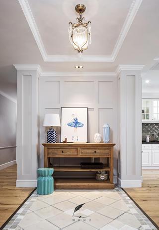 美式风格四居室玄关装修效果图