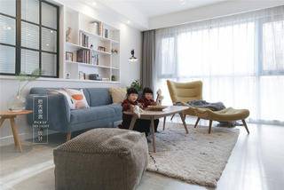 125平北欧风格客厅每日首存送20