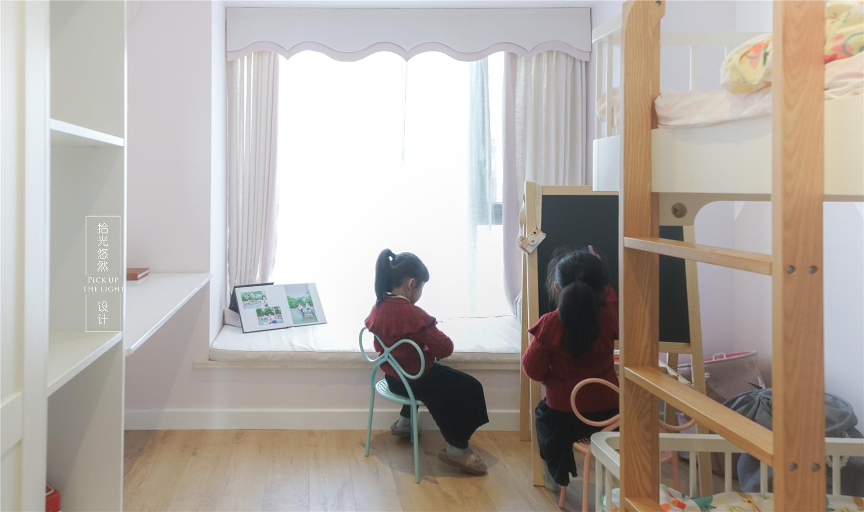 125平北欧风格儿童房装修效果图