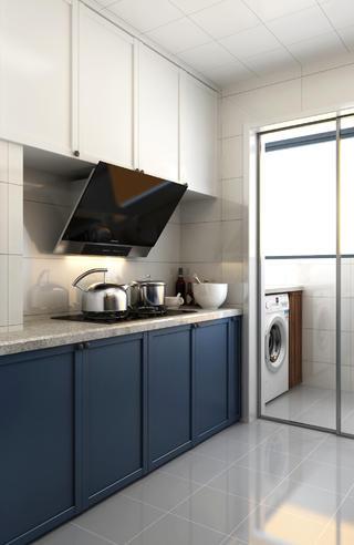 85平米二居厨房装修效果图