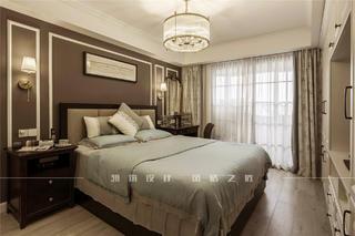 美式风两居卧室装修效果图
