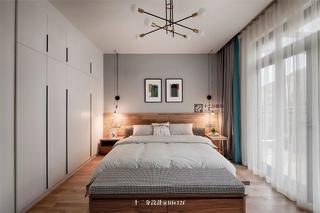 现代混搭风四居卧室装修效果图