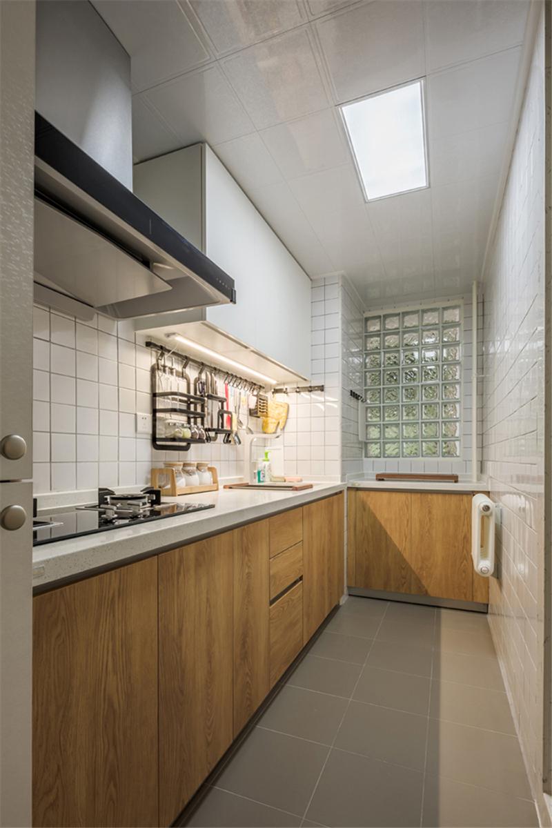 北欧风格二居室厨房装修效果图