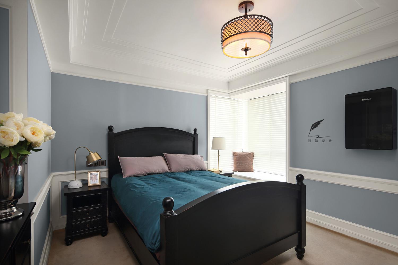 130㎡美式风卧室装修效果图