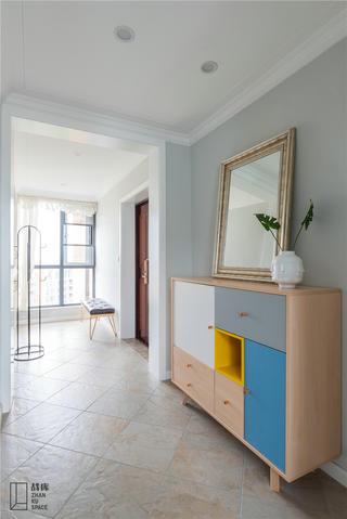 北欧风格别墅装修玄关柜设计图