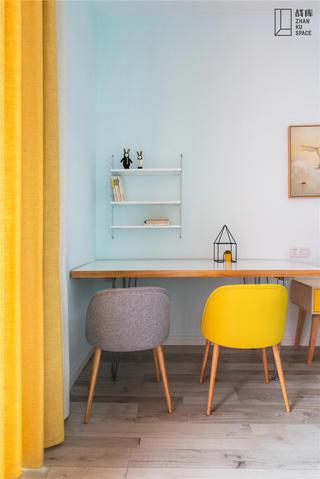 北欧风格别墅装修书桌椅设计图