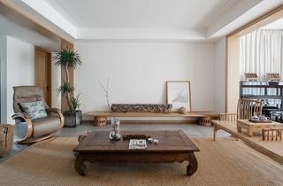 禅意中式风客厅装修效果图