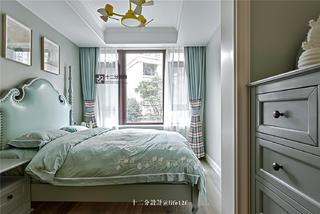 现代混搭风别墅卧室装修效果图