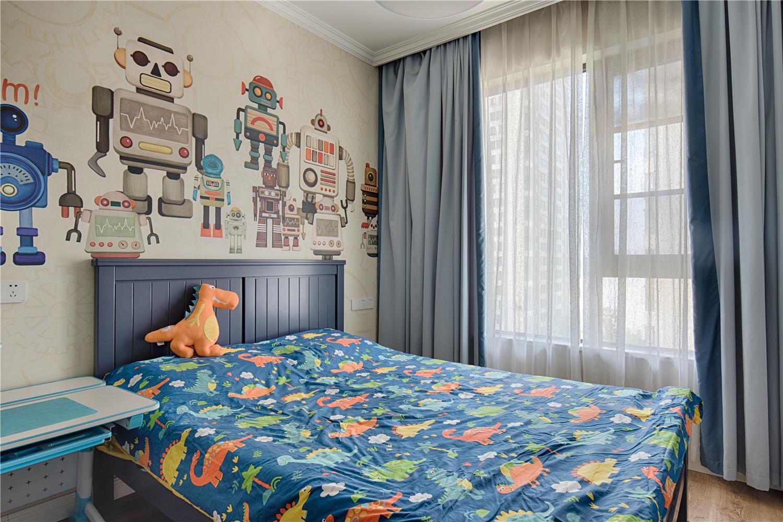 165㎡混搭风格儿童房装修效果图
