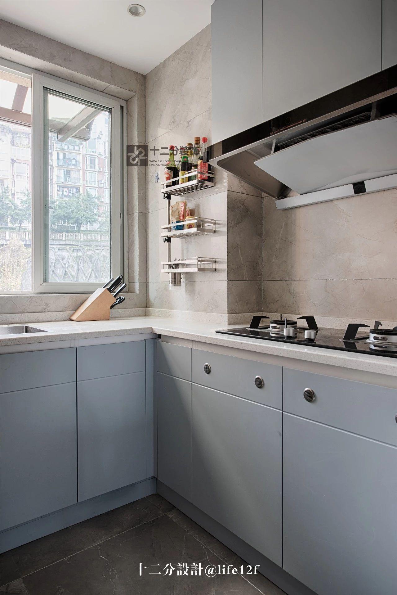 115平三居室厨房装修效果图