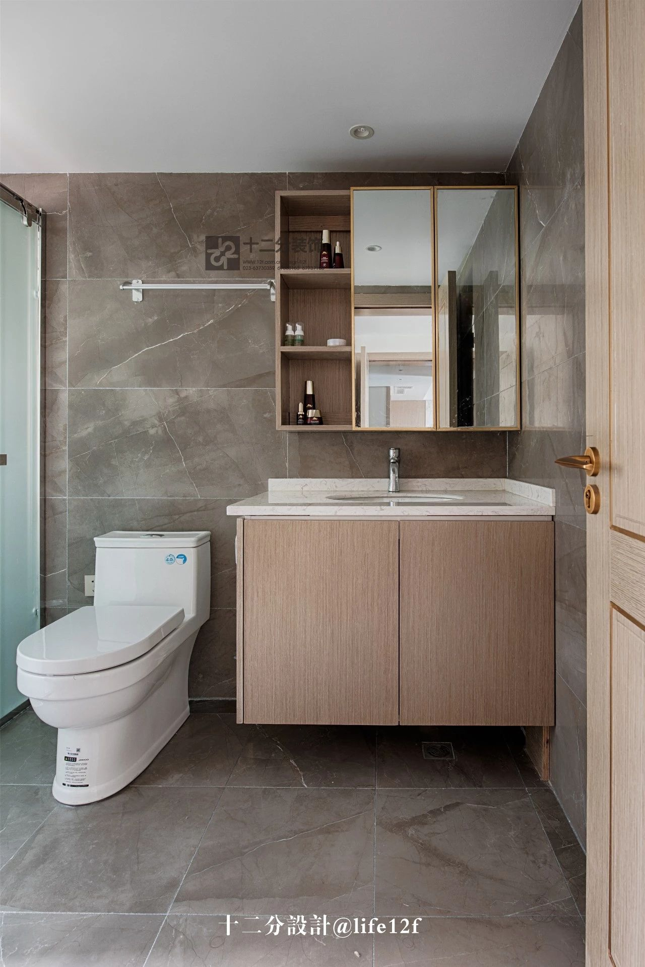115平三居室卫生间装修效果图