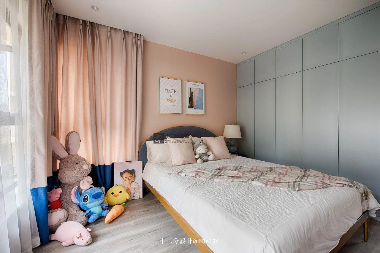 115平三居室儿童房装修效果图