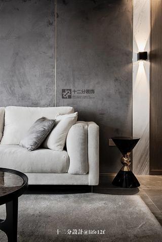 115平三居室装修沙发一角