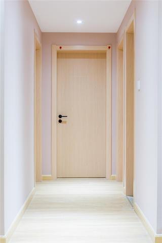 110㎡日式三居走廊装修效果图