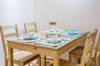 110㎡日式三居装修餐桌椅设计图