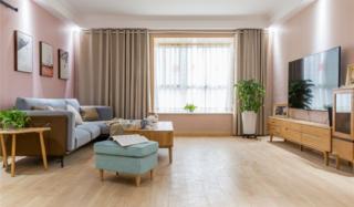 110㎡日式三居装修效果图