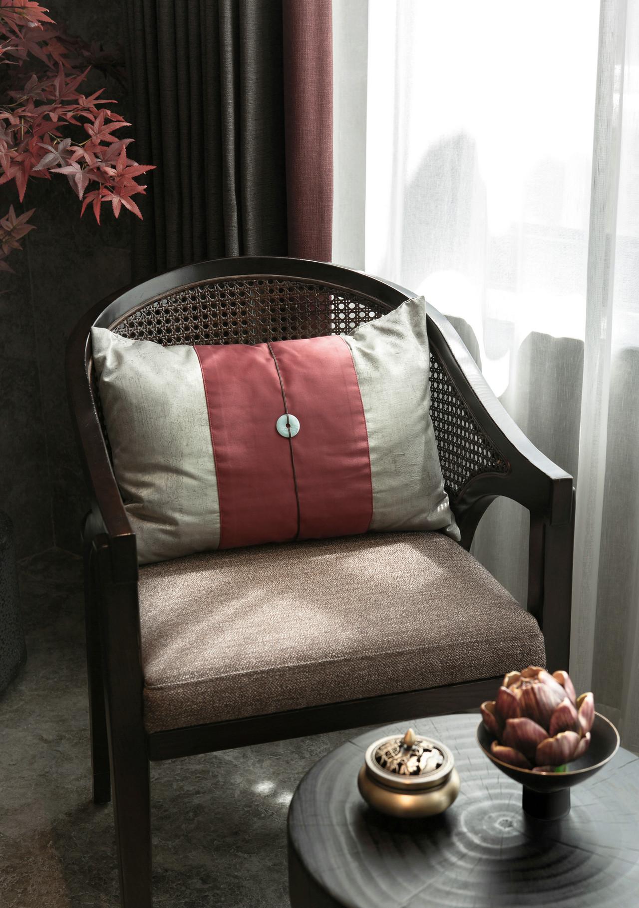 118平新中式风格装修休闲椅设计图