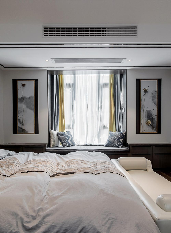 新中式风格别墅飘窗装修效果图