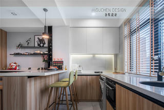 现代简约两居厨房装修效果图