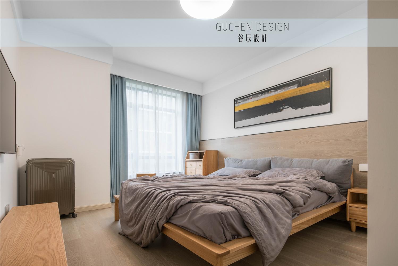 现代简约两居卧室装修效果图