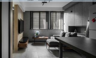 60平米二居室装修效果图