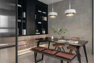 四居室现代风格餐厅每日首存送20