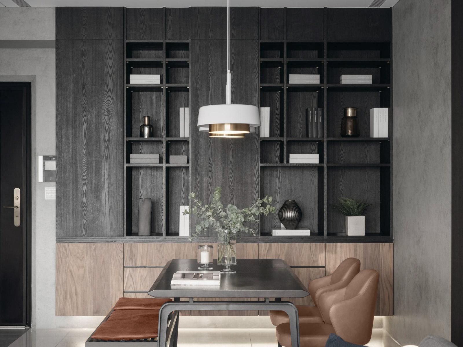 四居室现代风格餐厅装修效果图