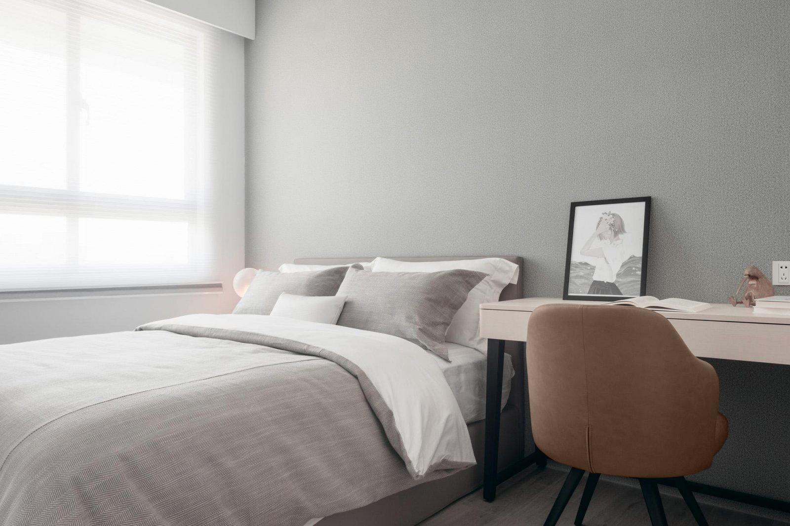 四居室现代风格卧室装修效果图