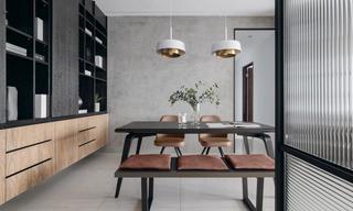 四居室现代风格装修效果图