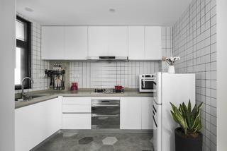 北欧ins风公寓厨房装修效果图