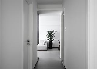 130㎡简约风格走廊装修效果图