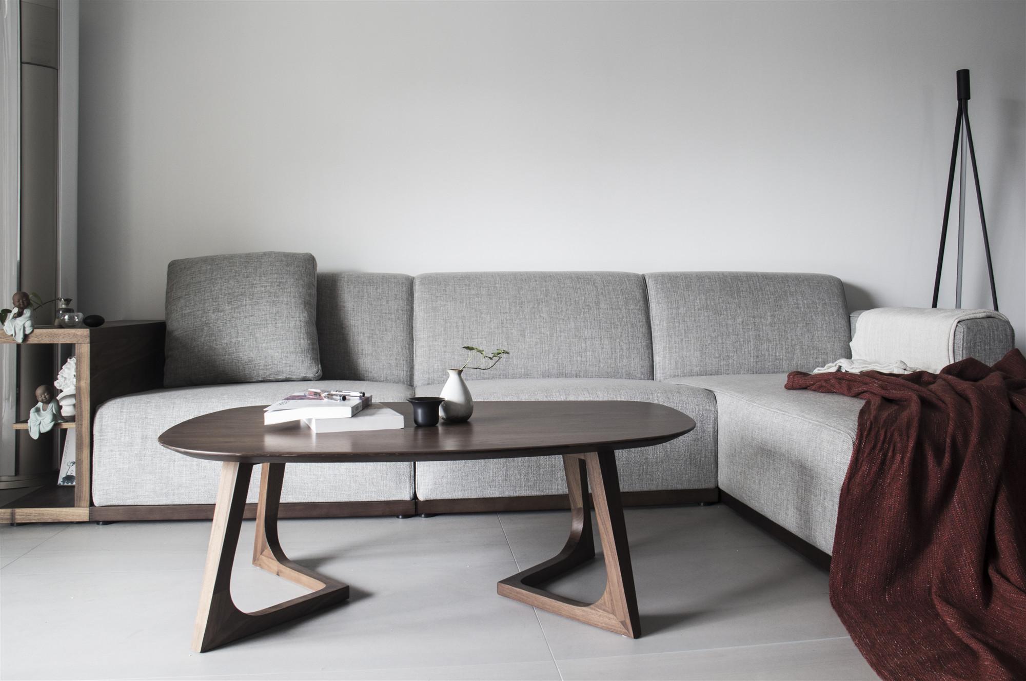 130㎡简约风格装修沙发设计图