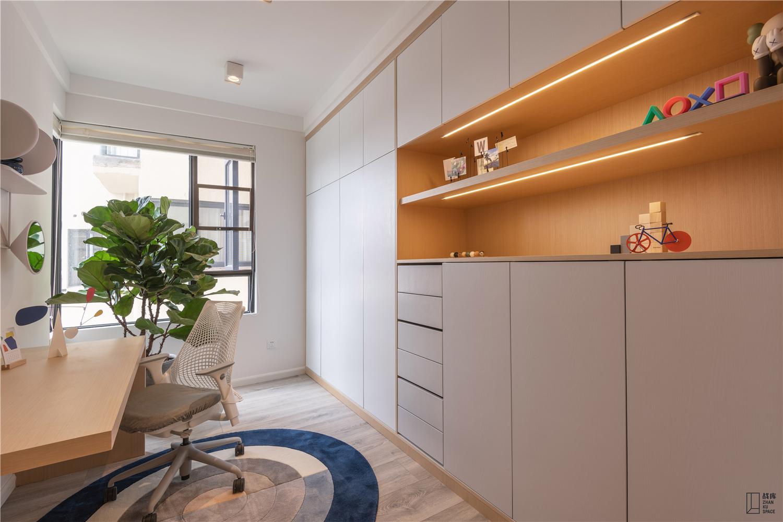 简约风格二居室书房装修效果图