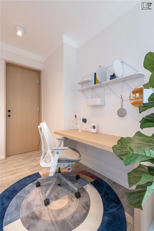 简约风格二居室装修书桌设计图
